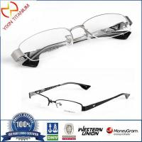 Buy cheap Half-rim Optical Glasses Pure Titanium Frames from wholesalers