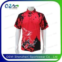China Polo 2016 sublimation custom logo polo shirts design for sale