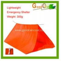 Quality plastic tube tent shelter for emergency use for sale