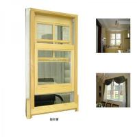 China Lacquer finished double hung window replacement on sale