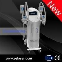 Quality Professional 4 hand pieces cryolipolysi fat freezing / cryolipolysi slimming machine for sale