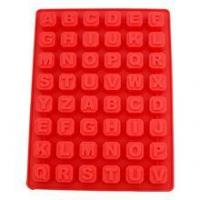 Quality 40 Cavity Silicone Mold Candy Molds Chocolate Baking Tools Alphabet Block Ice Cube Trays for sale