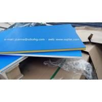 Dual color HDPE Plastic sheet for outdoor sign board