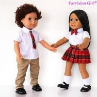 Quality EXCLUSIVE DESIGNS boy and girl dolls 18 inch twins doll Wholesale for sale