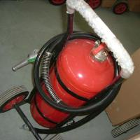 Quality 40% ABC Dry Powder Wheeled Fire Extinguisher for sale