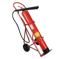 Quality 10kg Wheeled Carbon Dioxide Fire Safety Fire Extinguisher for sale