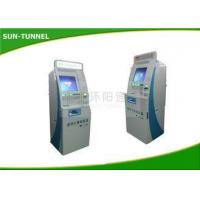 China High Brightness Outdoor Gift Card Kiosk , Rfid Card Dispenser Machine With Web Camera on sale