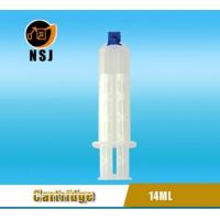 Quality Dental Cartridge 14ml 1:1 Disposable Double Dental Empty Silicone Syringe for sale