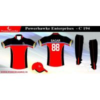 China RCB sublimation cricket uniform on sale