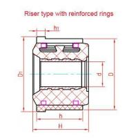 Quality Riser type commutator with reinforced rings for sale
