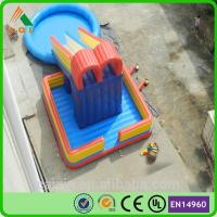 Quality 2016 Crazy And Popular Giant Inflatable Pool Water Slide for Sale for sale