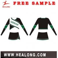 China New Colourful Sublimation Custom Design Cheerleading Uniform on sale