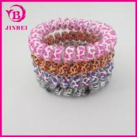 Quality TPU Material Telephone Wire Hair Band in Different Size for sale