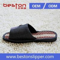 2015 new product bamboo sole cooldry flip flop slipper