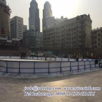 Quality Virgin hdpe hockey dasher board/ portable ice floor/ uhmwpe ice skating rink for sale