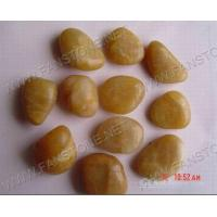 China Cobble/Gravel/Sand Yellow pebbles for sale