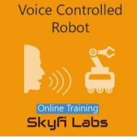 Quality Online Courses Voice Controlled Robot Online Project based Course for sale