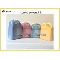 Quality Mild Oil Based Tinta Konica Solvent Printing Ink for sale