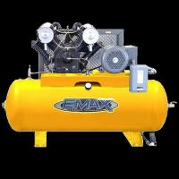 China Emax 2 Hp 100 Ltr Garage Air Compressor on sale