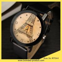 China Hot sale eiffel tower Unisex watch leather strap watch womens designer watches couple watches on sale