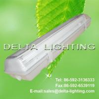 Quality Double Fluorescent Light Fitting with Cover Waterproof IP65 T8/T10 for sale