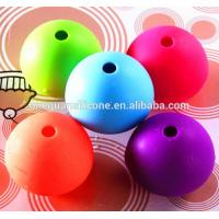 Quality Silicone Ball Shape Ice Cube Mold for sale