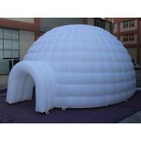 Quality 2016 New Inflatable Dome Tent With LED Light for sale