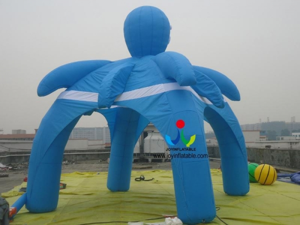 China 2016 New Designed Advertising Inflatable Spider Tent 4 Legs