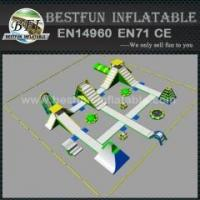 Quality Inflatable water park equipment for sale for sale