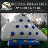 Quality Water Park Games Inflatable Floating Iceberg for sale