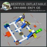 Quality Open Water Inflatable Floating Water Park for sale