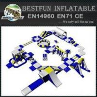Quality Standard Combination Inflatable Water Park for sale