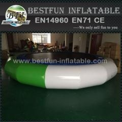 Buy Inflatable Orbit Water Trampoline With Solid Net at wholesale prices