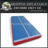 Buy cheap Gym coaching class used inflatable air tumble track landing mats from wholesalers