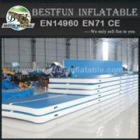 Buy cheap Inflatable running air floor track for gym from wholesalers