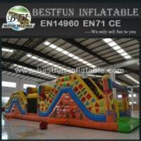 Buy cheap China Hot Sale Inflatable Indian Obstacle Course from wholesalers