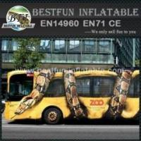 Buy cheap Python attact bus combination inflatable obstacle course from wholesalers