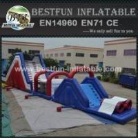 Buy cheap Inflatable Blow Up Obstacle Courses from wholesalers