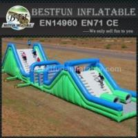Buy cheap Outdoor jumper team adult inflatable obstacle course from wholesalers
