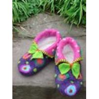 A one day course designing and making your own pair of cosy felt slippers. - Gloucestershire