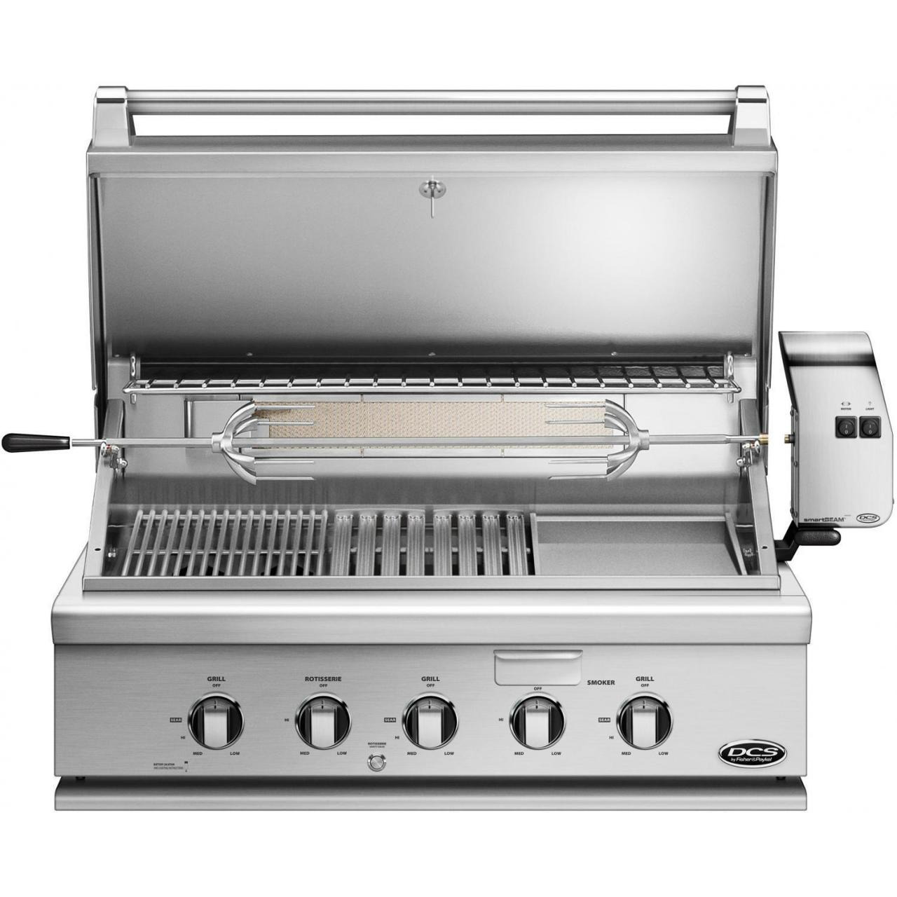 China DCS Heritage 36-Inch Built-In Natural Gas Grill With Infrared Burner Kit & Griddle - BH1-36RGI-N on sale
