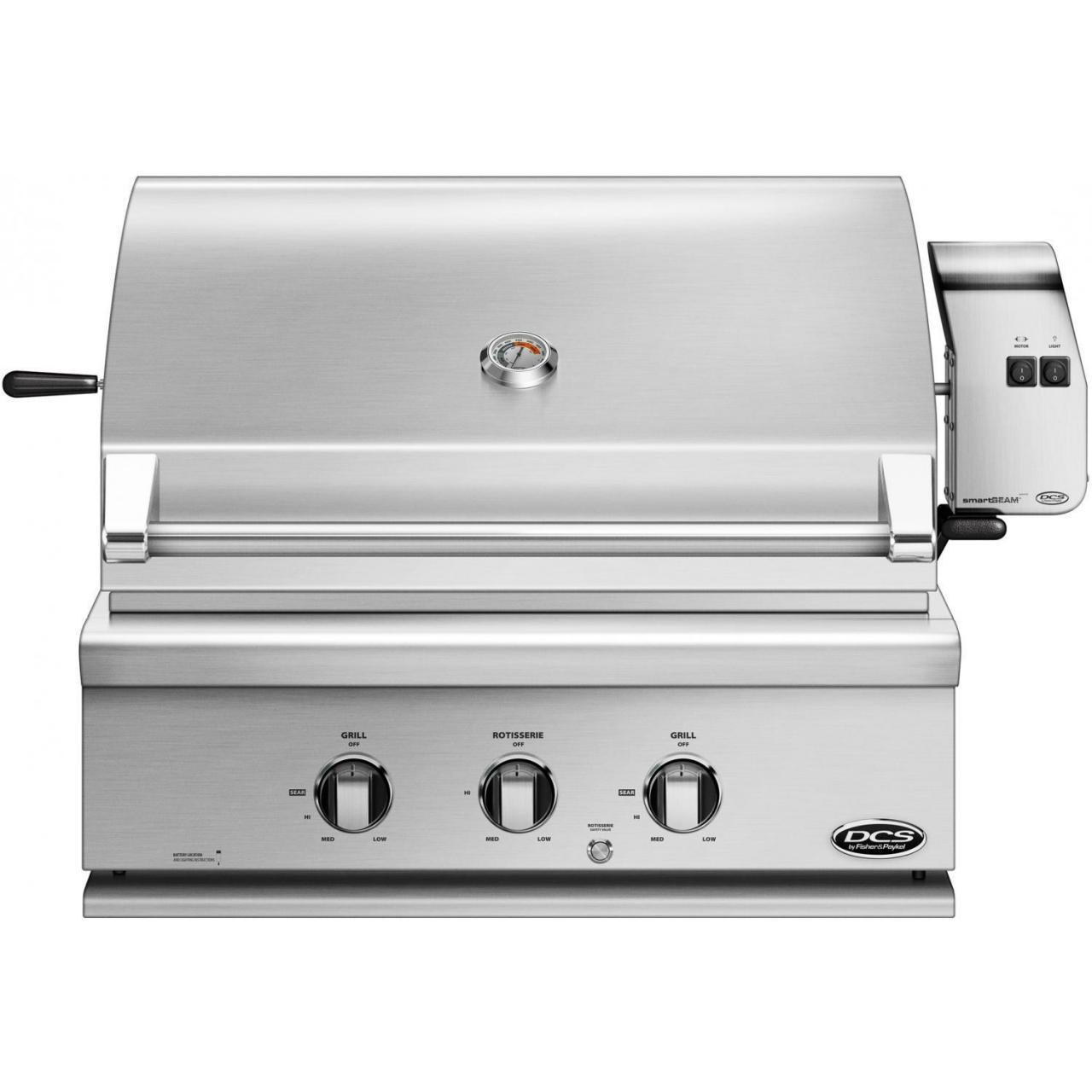 China DCS Professional 30-Inch Built-In Natural Gas Grill With Rotisserie - BH1-30R-N on sale