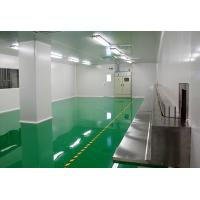 Power distribution system Self leveling epoxy resin floor