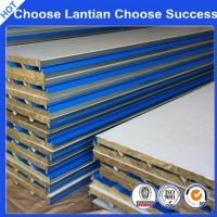Quality Steel Structure Rock-wool Composite Steel Panel for sale