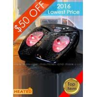 Quality FootVibe Heated Foot Massager with Remote Item# MM003483 for sale