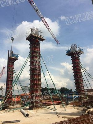 Buy Column Formwork Steel Column Formwork at wholesale prices