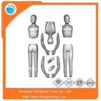 Quality Body Parts Hot Toys Plastic Figure Mold for sale