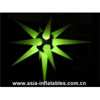 Quality Cheap Price LED Light Inflatable Star for Wedding Decoration for sale