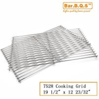 China 2 Pcs Weber 7528 Gas Grill BBQ Stainless Steel Cooking Grid Grate on sale