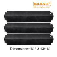 China 93321-3pack Charbroil Gas Grill Heat Plate Porcelain Steel Heat Shield on sale